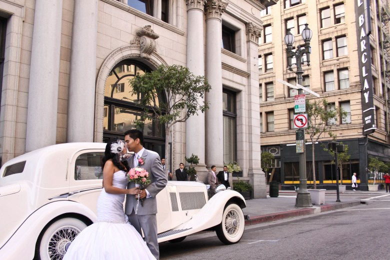 Vintage Los Angeles Wedding