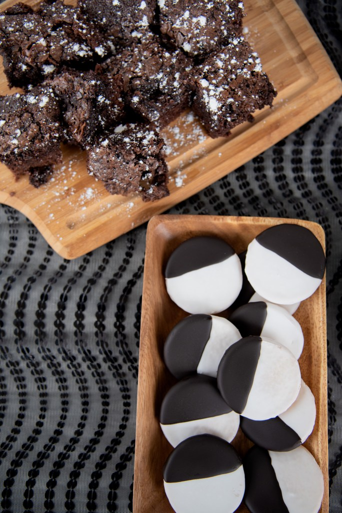 Black and White Cookies Soccer Brunch