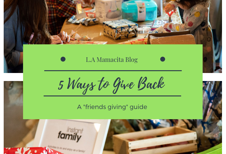 5 Ways to Give Back During The Holidays