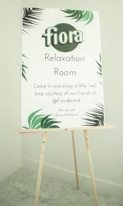 Relaxation Room Signange