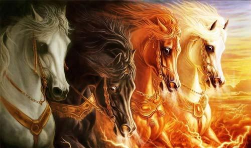 Les 4 chevaux de l'Apocalypse