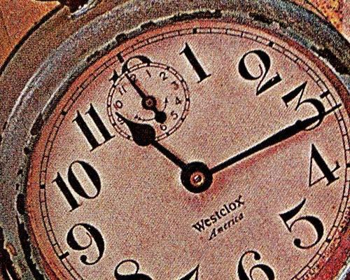 Cadran de vielle montre à gousset