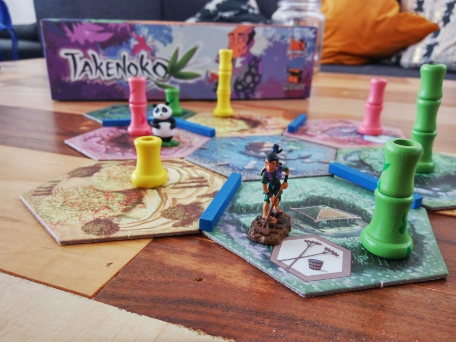 Las hermosas piezas de Takenoko