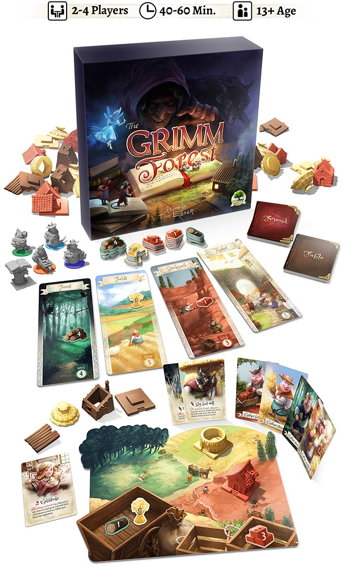 The Grimm Forest: los componentes
