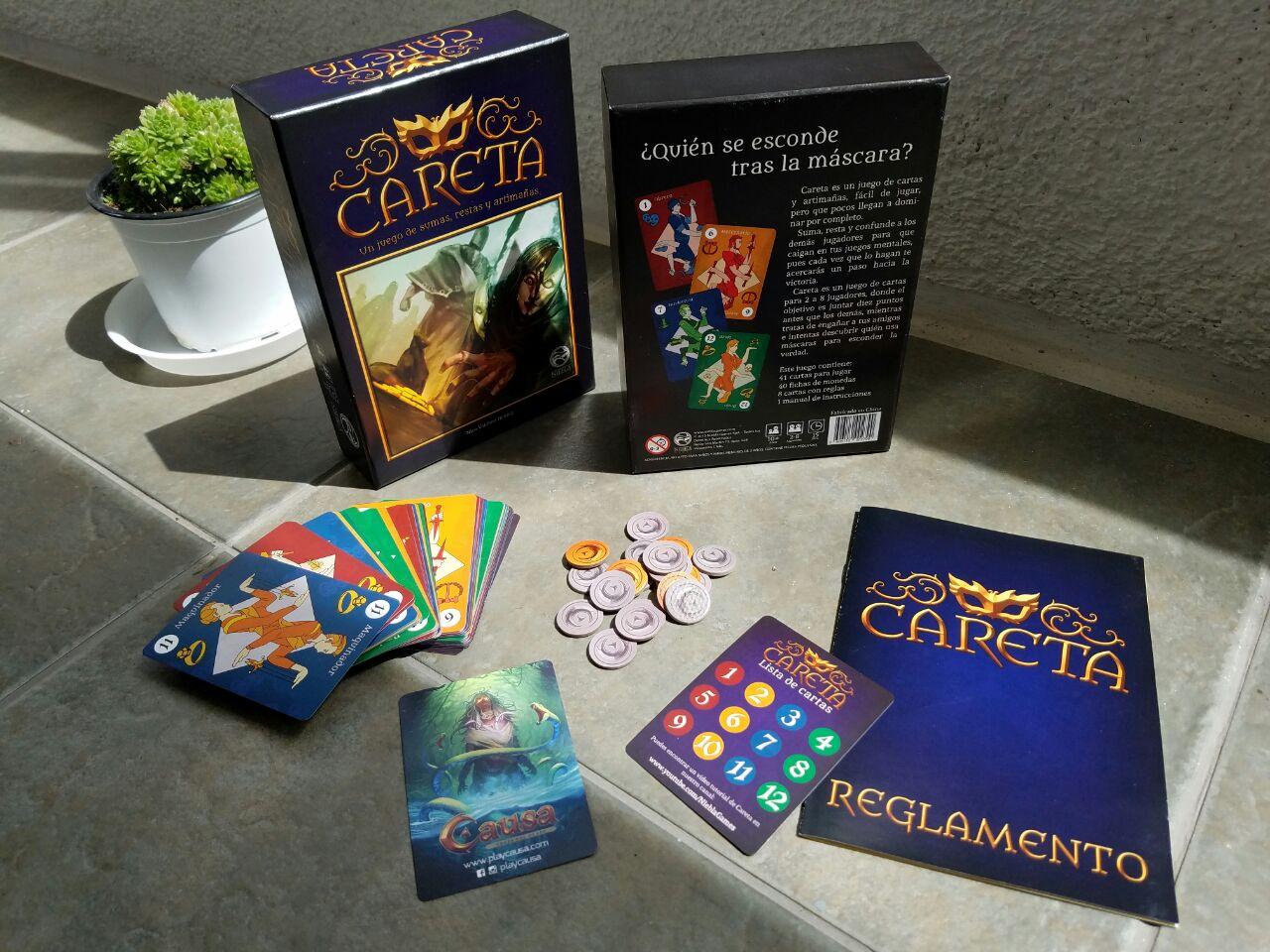 Careta, el primer juego de Niebla Games
