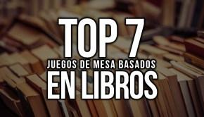 Top 7 juegos de mesa basados en libros
