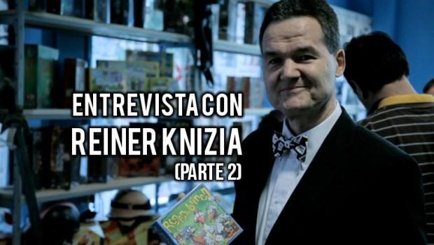 Entrevista Reiner Knizia, segunda parte
