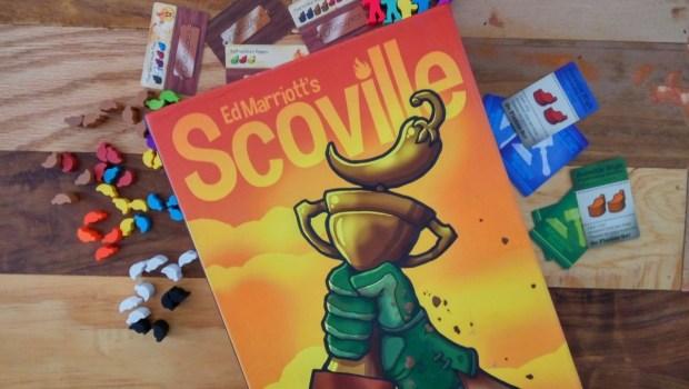 Scoville, caja y componentes