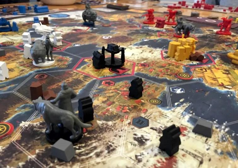 Scythe, uno de los juegos financiados en KS