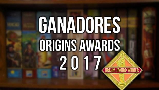 Ganadores Origins Awards 2017