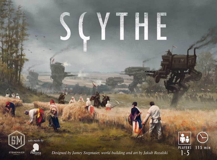Scythe, caja