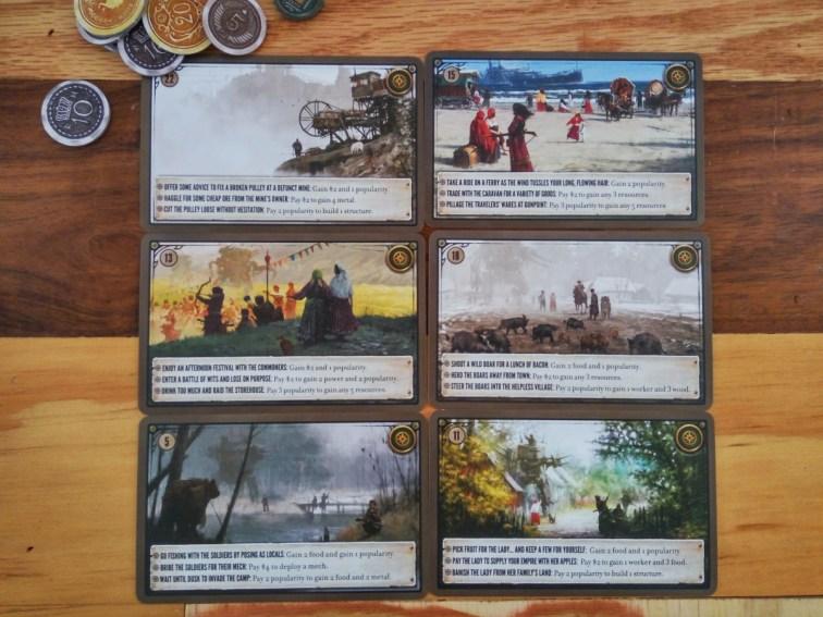 Scythe Cards
