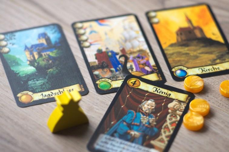 Citadels, otro juego medieval