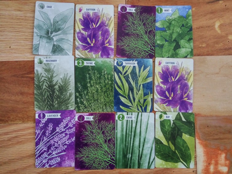 Herbaceous Cards