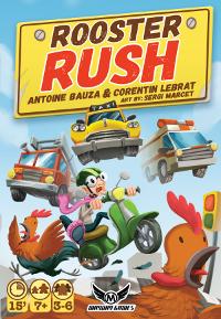 Rooster Rush, con arte de Sergi Marcet