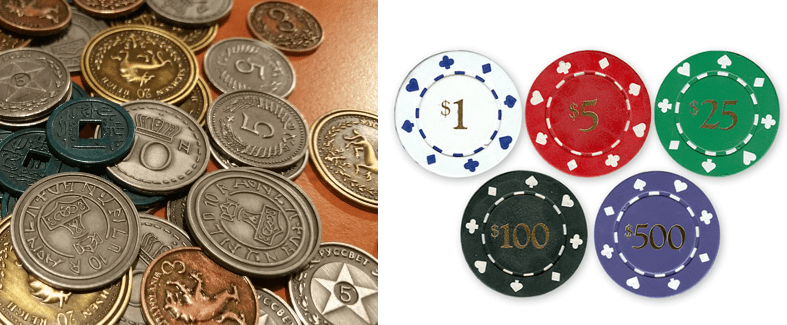 ALternativas al dinero en juegos