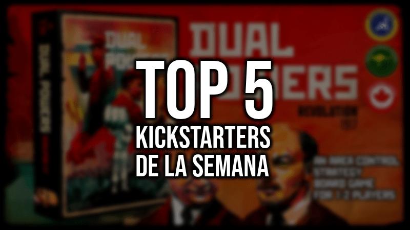 Top 5 Kickstarters de la Semana 24/04/2018