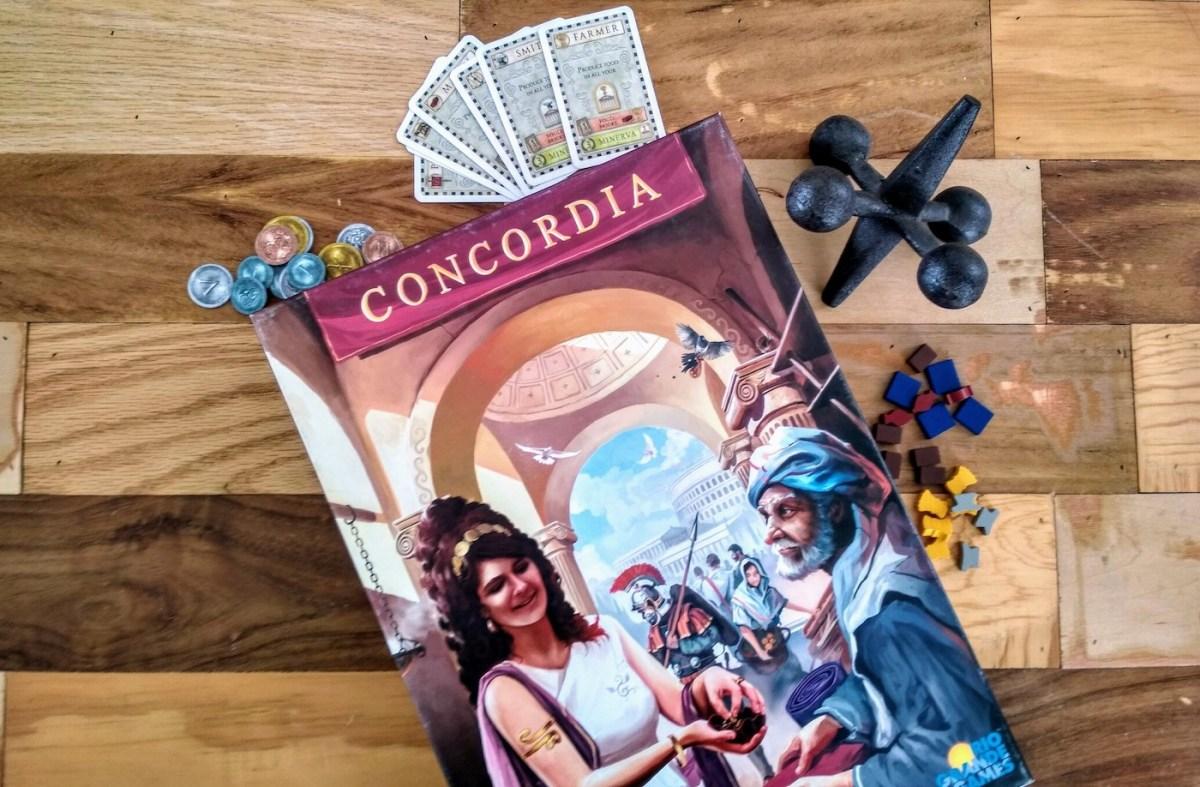 Concordia: Cartas, Comercio y Conquista