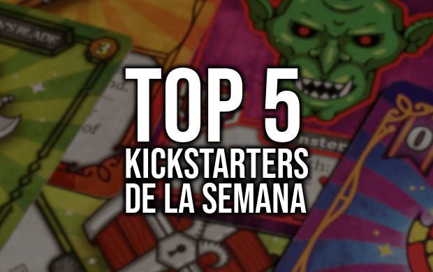 Top 5 Kickstarters de la semana (22/01/2019)