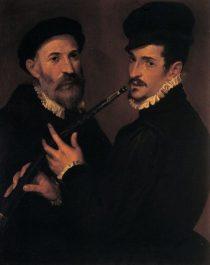 Cornettiste au 16ème siècle