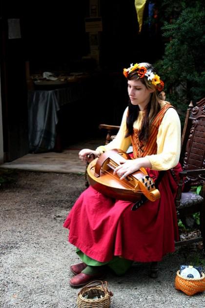 vielle à roue hurdy-gurdy