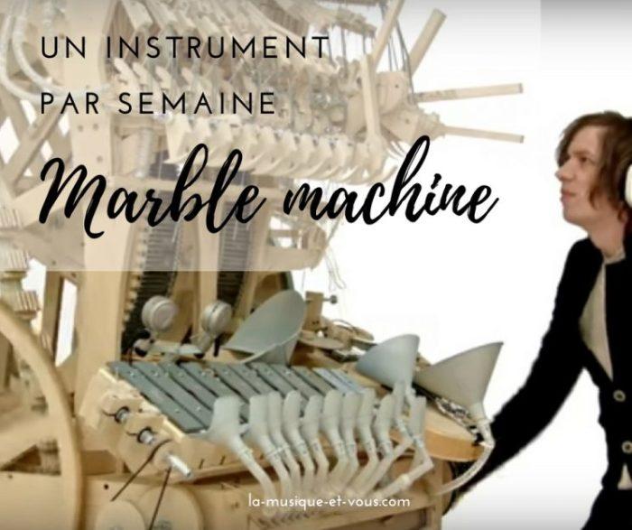 La Marble Machine de Martin Molin