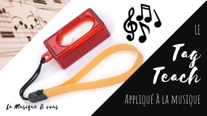 Tag teach appliqué à la musique