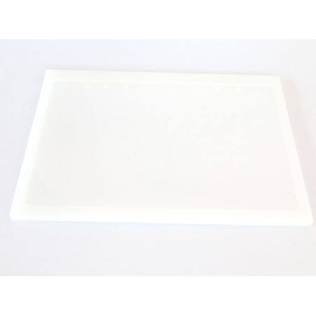 moule silicone rectangle petit format pour resine et pate polymere