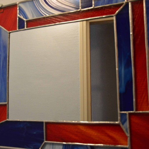 Miroir vitrail
