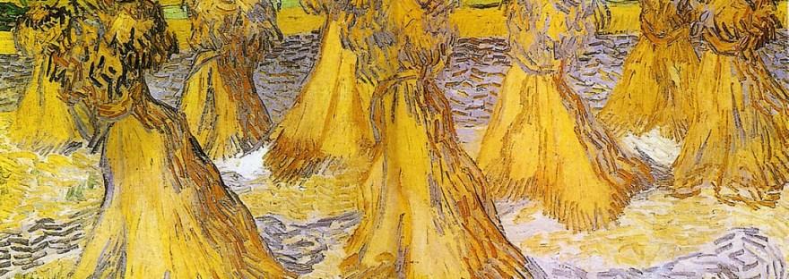 gluten et troubles neuropsychiatriques - bottes de blé Van Gogh