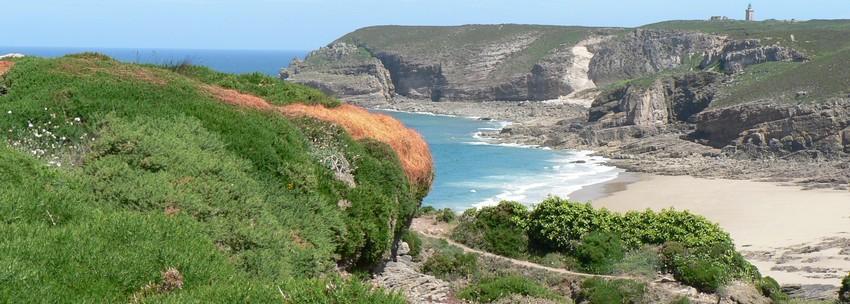 Bretagne Nord, Cap Frehel, chemin des douaniers