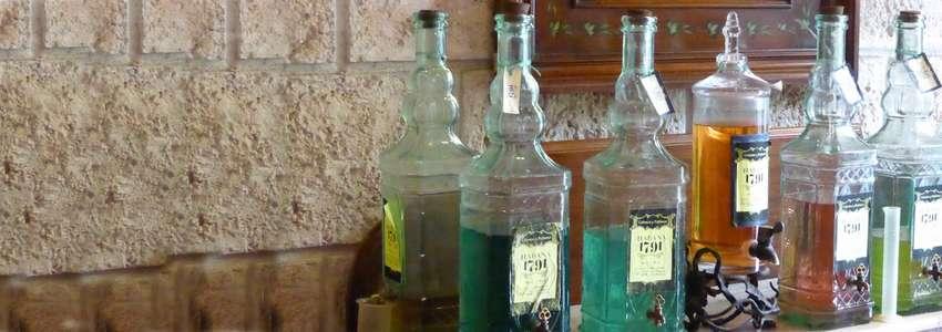 La vieille dame de La Havane, parfumerie d'antan et vieux alambics