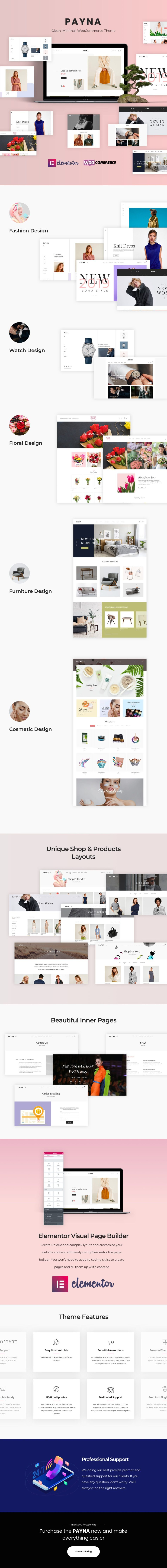 Payna - Clean and minimal WooCommerce theme - 2