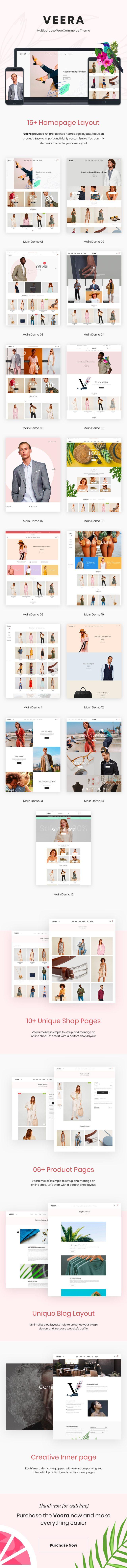 Veera – Multipurpose WooCommerce Theme - 4