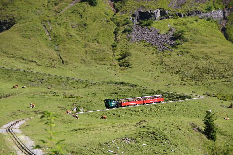 Train à crémaillère du Brienzer Rothorn