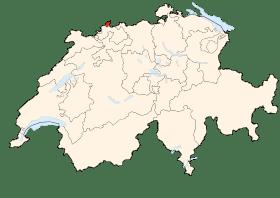 Carte de Bâle-Ville