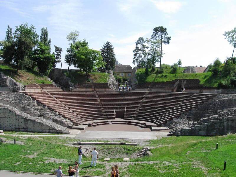 Le Théâtre à Augusta Raurica