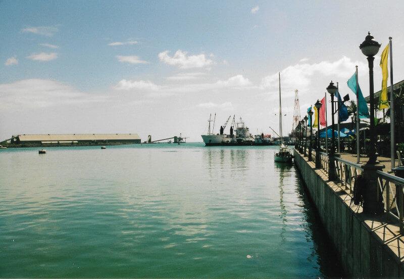 Le port de la Capitale Port-Louis