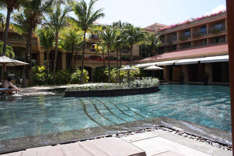 L'hôtel le Mauricia à l'île Maurice