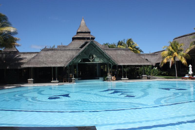 L'hôtel le Shandrani à l'île Maurice