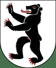 Le blason du canton d'Appenzell Rhodes-Intérieur