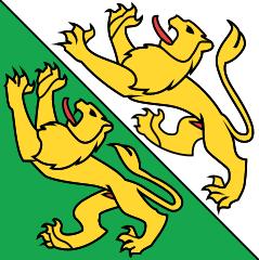 Le drapeau du canton de Thurgovie