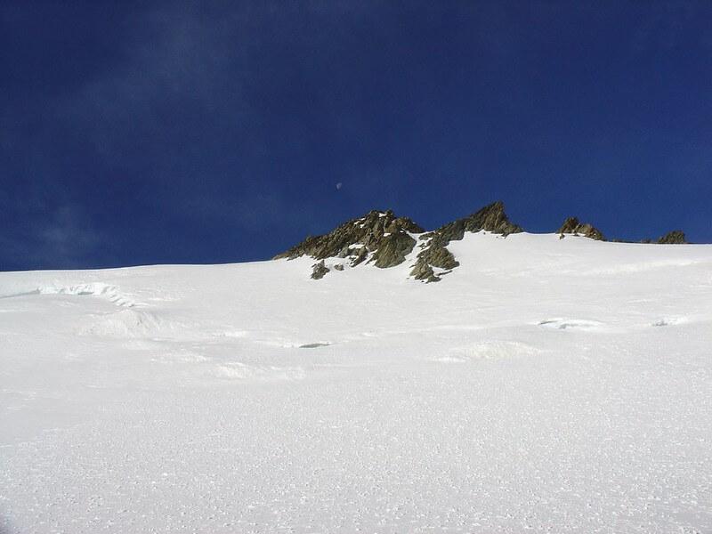 Le sommet du Hinter Fiescherhorn