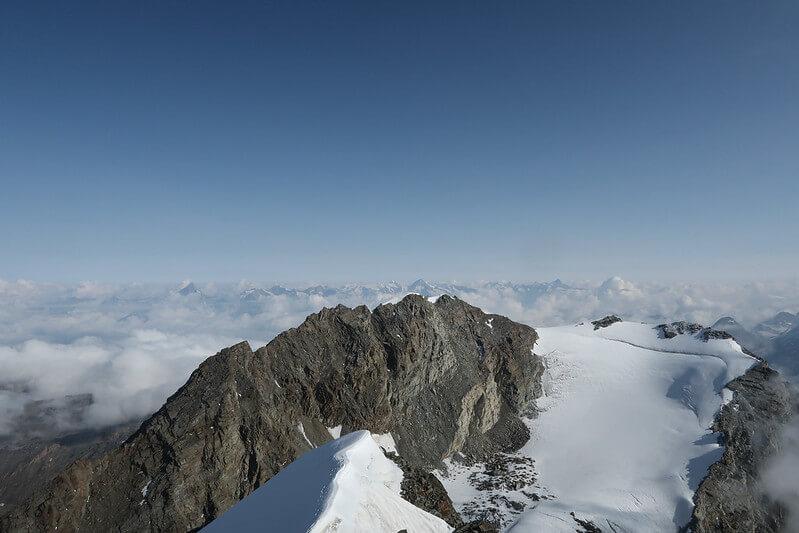 Le sommet du Lagginhorn