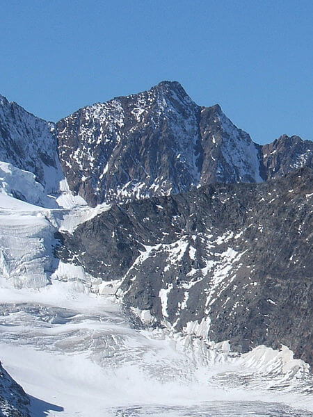Le sommet du Dürrenhorn