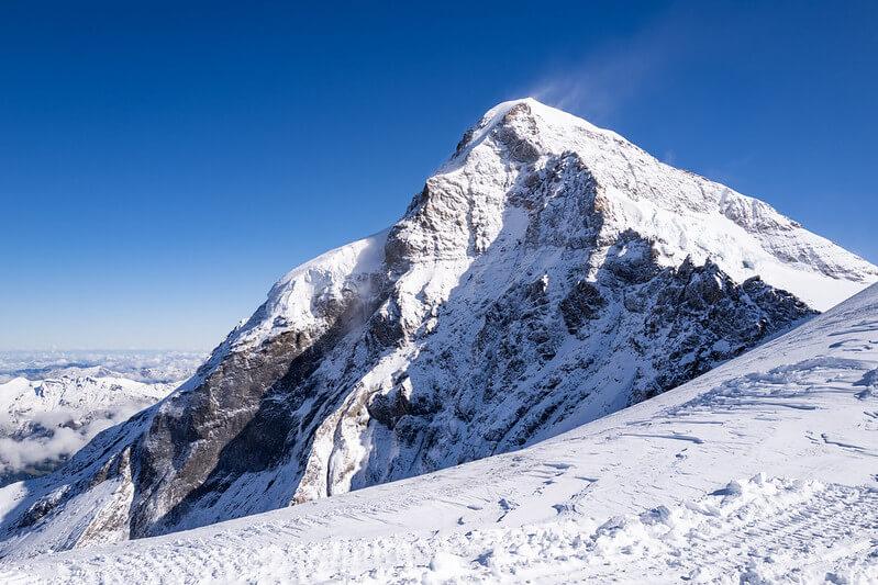Le sommet du Mönch