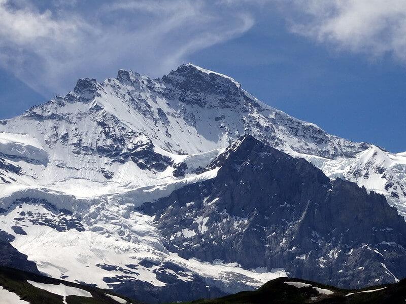 Le sommet de la Jungfrau
