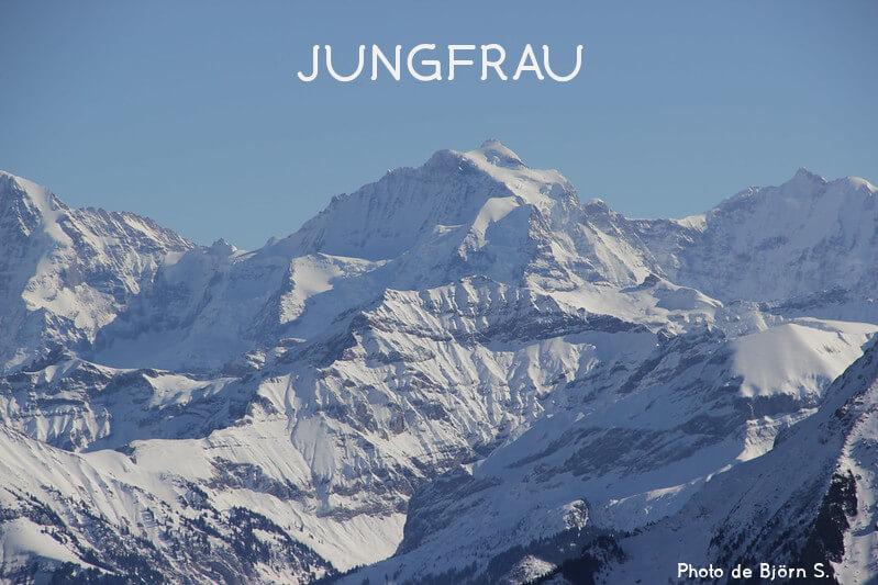 Vignette - La Jungfrau