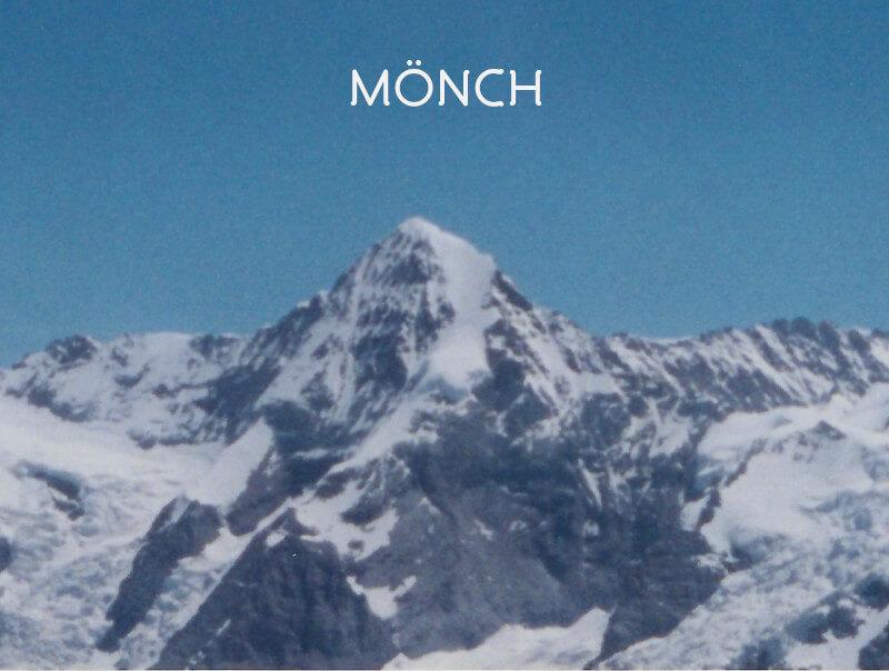Vignette - Le Mönch vue depuis le Schilthorn