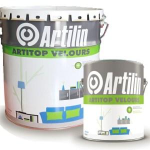 Peinture velours acrylique pour une application sur les murs en intérieur. Peut être appliquée sur plâtres, enduits, béton, brique et pierre.